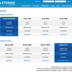 Storino.pl - Cennik